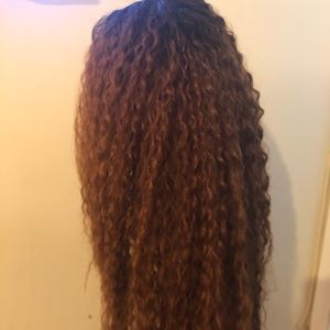 Curly mixed wig